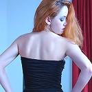 Salome wearing her pantyhose